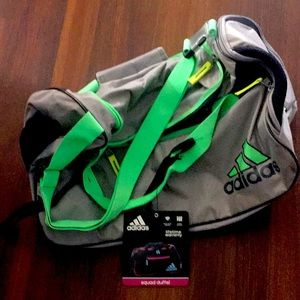Adidas Squad Duffle Gym / Practice Bag